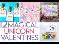 12 Unicorn Valentines to Craft