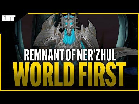 Limit vs Remnant of Ner'zhul WORLD FIRST - Sanctum of Domination Raid |
