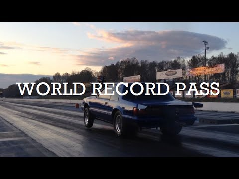 World's Fastest True Stick Shift Mustang; 8.58@165, 93 88mm Turbo Synchronized T56 6 Speed Record