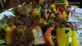 Cooking With Bassant   شيش طاووق