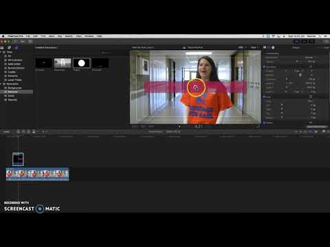 Working With Text & Shape Generator in Final Cut Pro X (10.3.4)