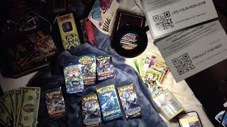 Pokémon booster Pack Opening ASMR & Online CODES | Sun & moon | Steam siege | Evolutions