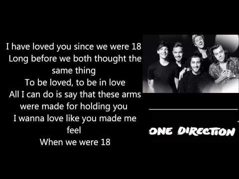 18 - one direction lyrics