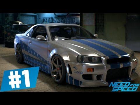 Need For Speed - Skyline Paul Walker