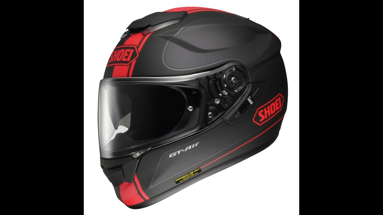 8bec28c8 SHOEI GT AIR- first ride/ review part 2 - YouTube