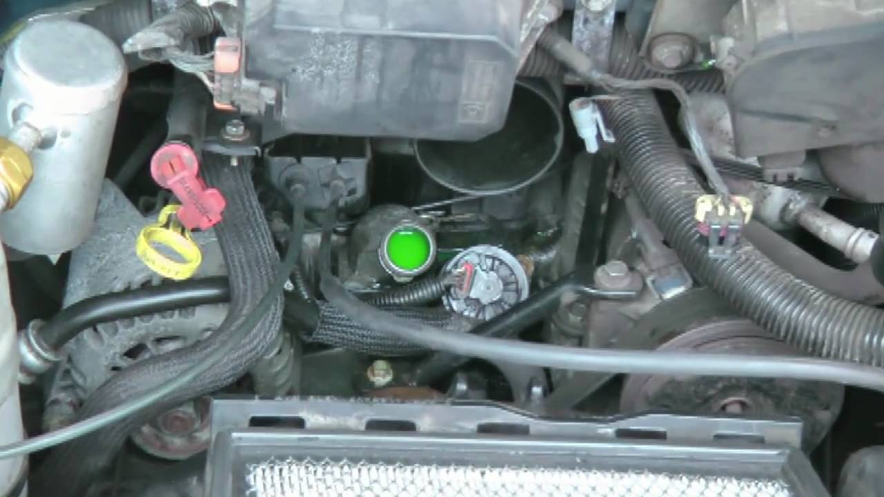 Chevrolet Astro Van Thermostat Replacement  YouTube