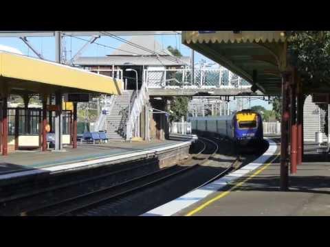 Australian Trains: Homebush (Sydney) CountryLink, 28Sep13