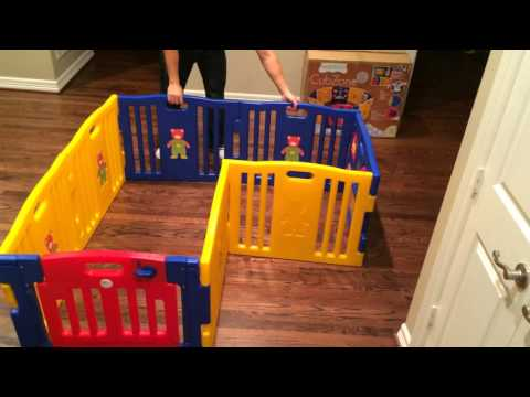 Baby Diego Cubzone Playpen Playard Review Demonstration