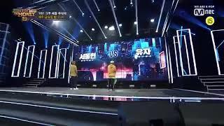 쇼미8 서동현Vs유자 크루배틀