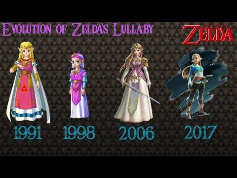 Evolution Of Zelda's Lullaby 1991- 2017