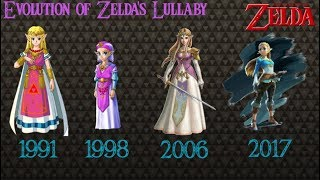 Evolution of Zelda's Lullaby 1991- 2017