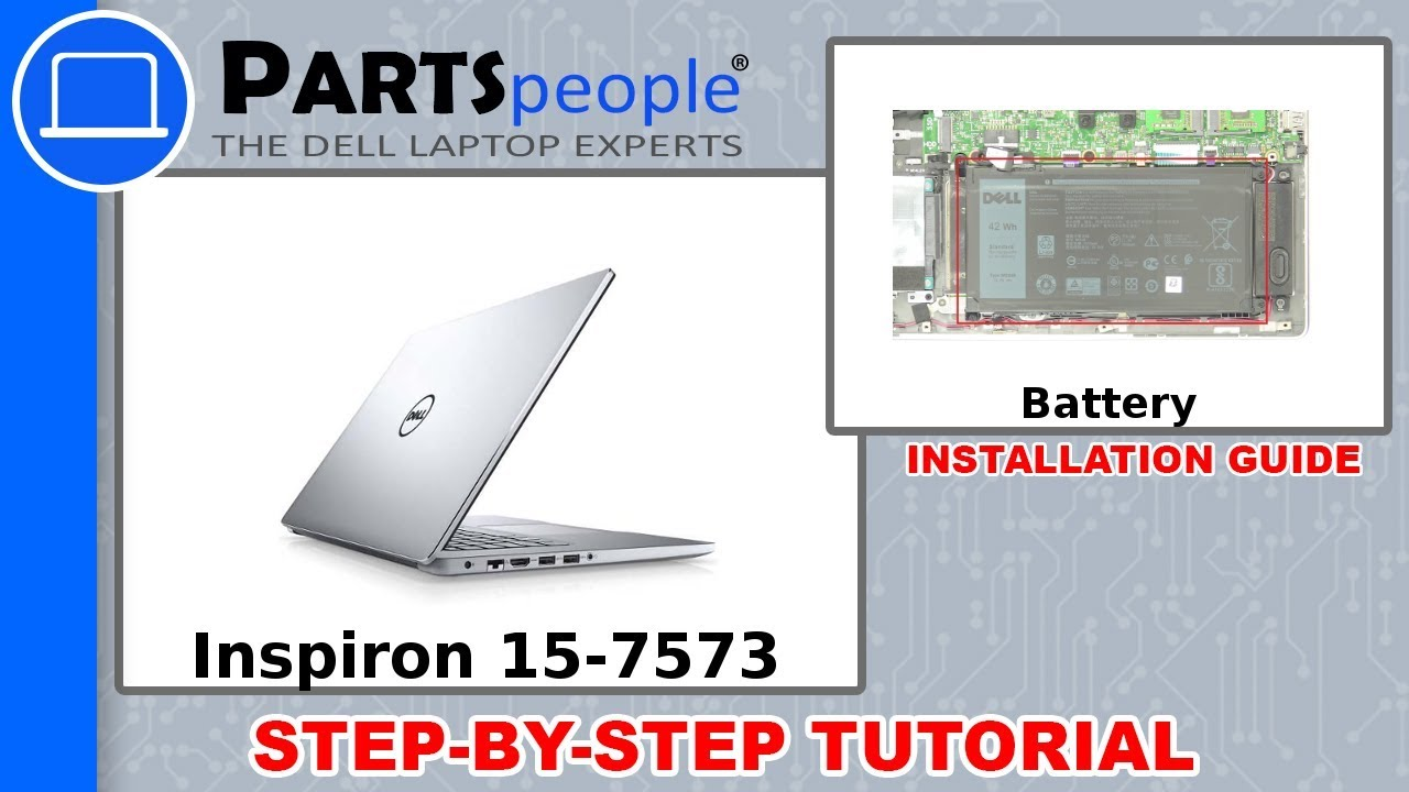 Dell Inspiron 15-7573 (P70F001) Battery How-To Video Tutorial