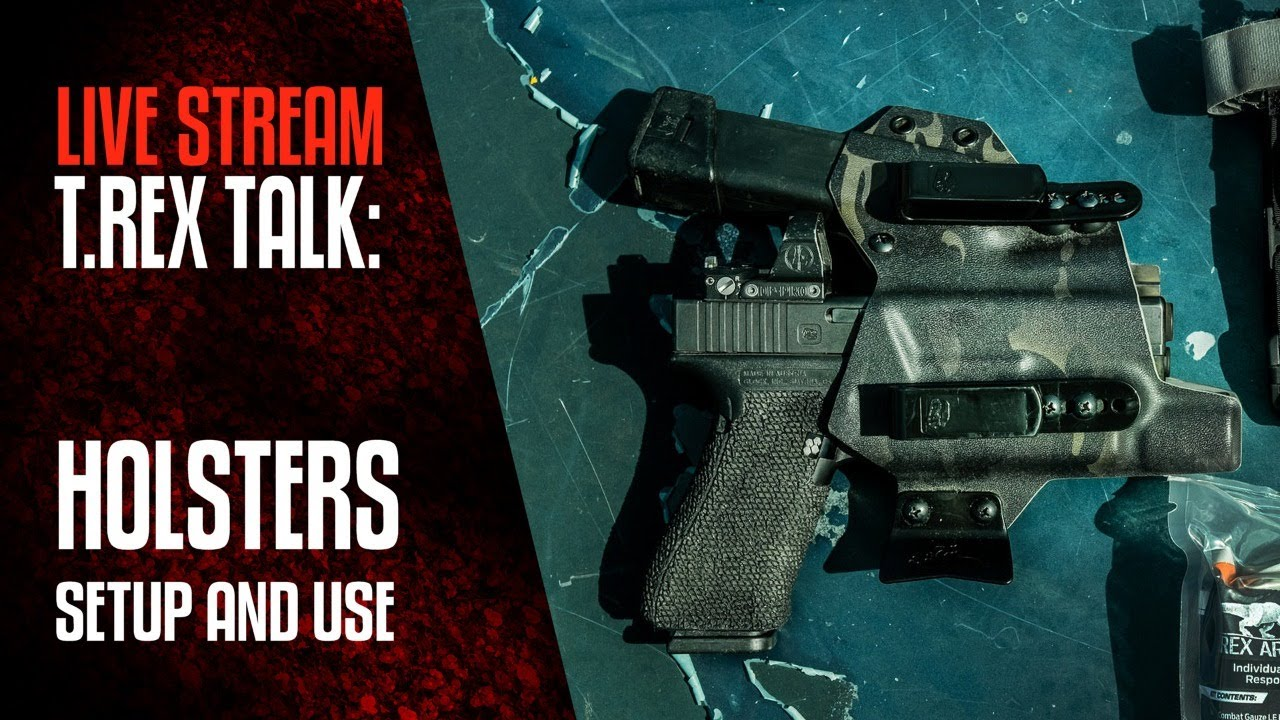 T.REX TALK: Holster Setup and Use