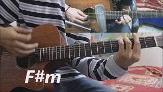 Kaise Hua - Kabir Singh - Vishal Mishra - Hindi Guitar Cover Lesson Chords Easy