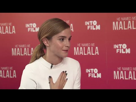 Emma Watson & Malala Interview - Into Film Festival Q&A
