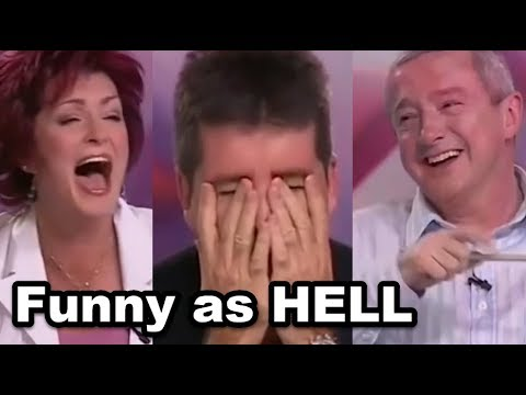 I BET YOU WILL LAUGH... Top 6 FUNNY When Judges CAN'T STOP L