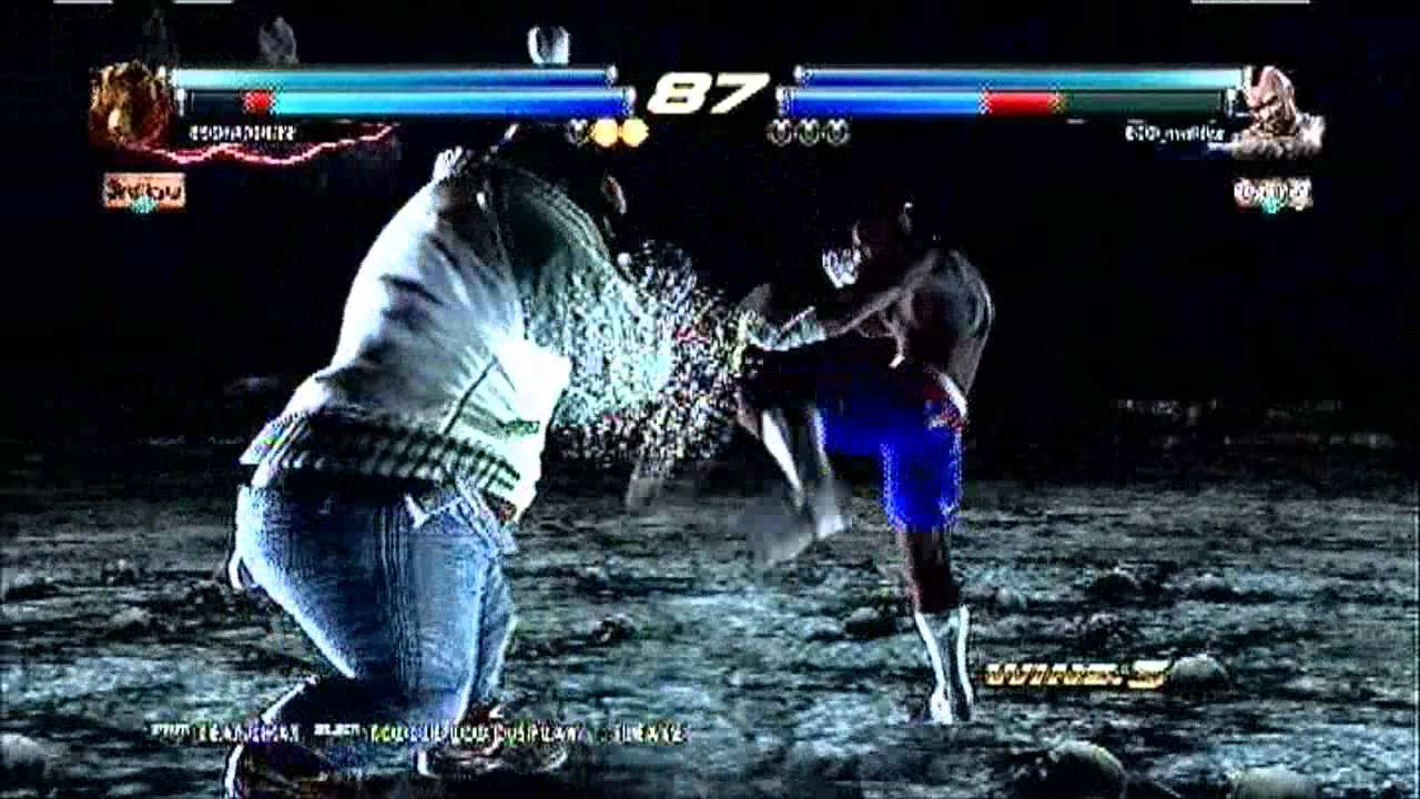 Tekken Tag Tournament 2 Online Lobby And Gameplay Youtube