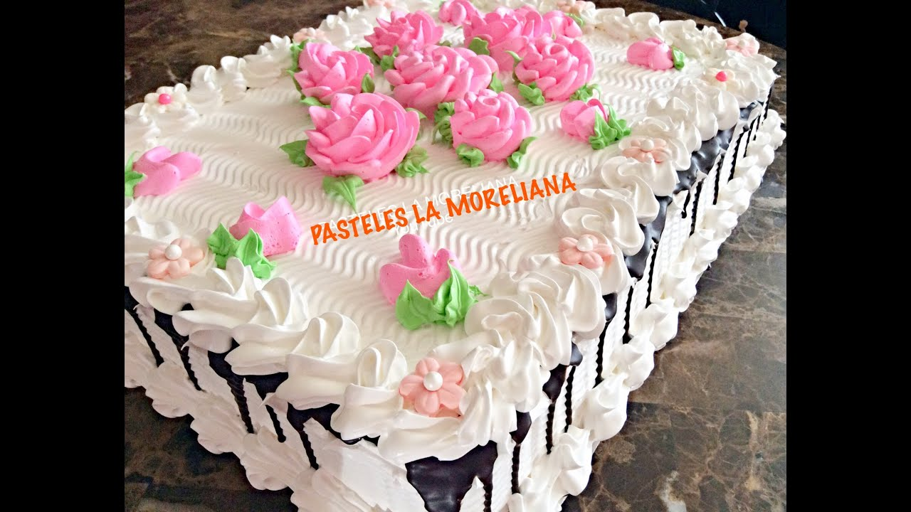 Decoracion trenza basica para principiantes de chantilly - Decoracion de tortas ...