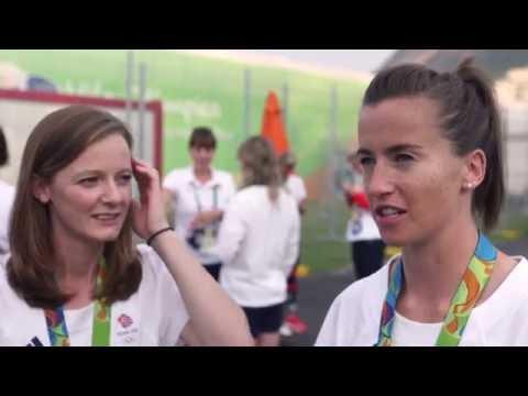 Team GB Hockey Stars Helen Richardson-Walsh & Maddie Hinch Talk About Winning Gold In Rio