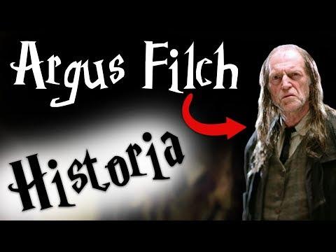 HISTORIA / BIOGRAFIA - Argus Filch || Harry Potter TAG