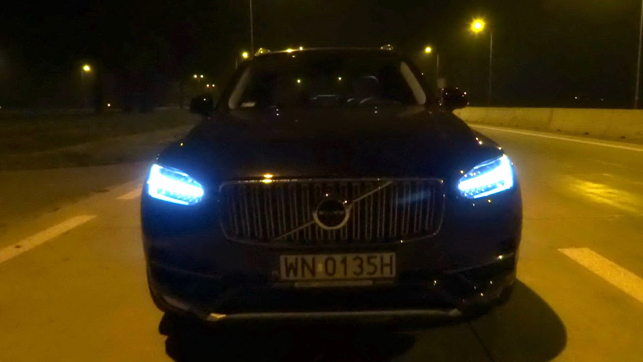 2015 2016 Volvo Xc90 T6 320hp Led Lights Test Drive
