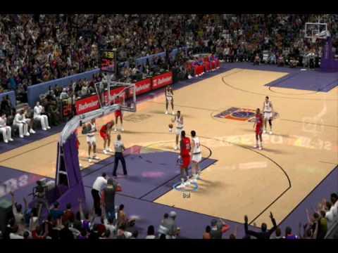NBA 2k10 PC Gameplay 1991-92 Season Mod by aloncho11 - (76ers @ Suns)