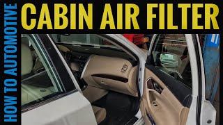 How to Replace the Cabin Air Filter on a 2015 Nissan Altima
