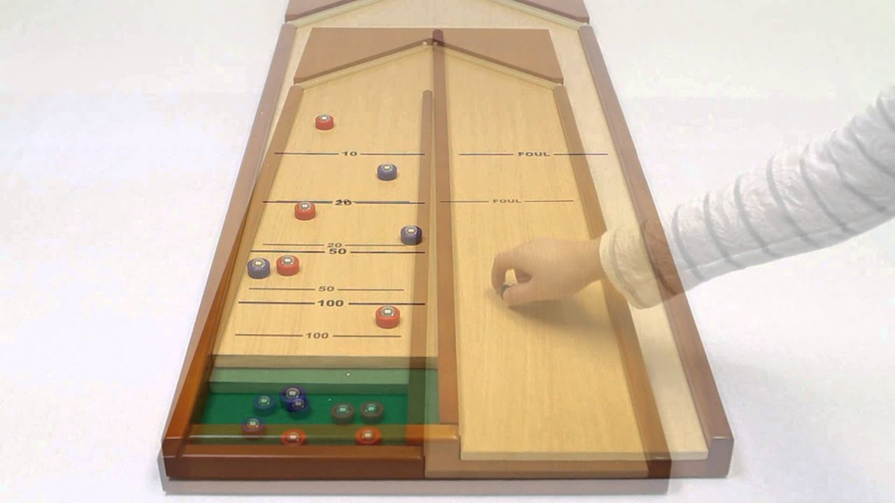 Attirant Ideal   Classic Shuffleboard Tabletop Game