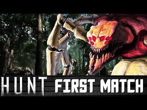 FIRST MATCH EVER! Hunt Showdown Gameplay Walkthrough (PC Closed Alpha)