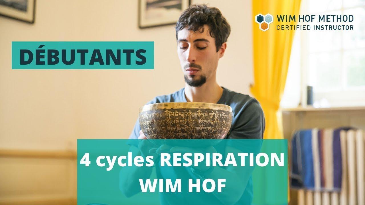 Respiration Wim Hof guidée en français DÉBUTANT
