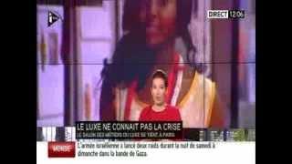 Interview i-Télé : Christophe Rioux au Salon des métiers du luxe