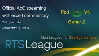RTS League AoC S35: PoJ vs. VN, Game 2