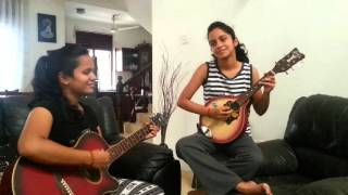 Tujhe Dekha To Yeh Jaana Sanam  by Senuri & Thenuri of Sri Lanka