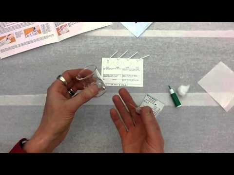 Blood Typing Using Eldoncard