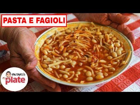 PASTA E FAGIOLI RECIPE | Ricetta Pasta e Fagioli | Authentic Italian Beans Soup thumbnail
