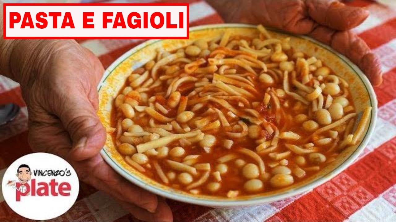 how to make pasta e fagioli
