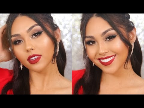prom-makeup-tutorial-for-red-dress- -roxette-arisa