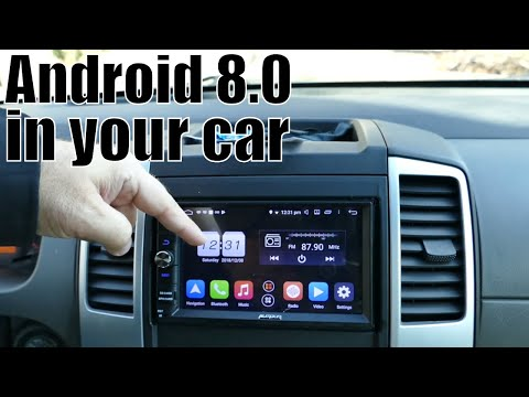 Android 8.0 Car Stereo unit review from Auto Pumpkin