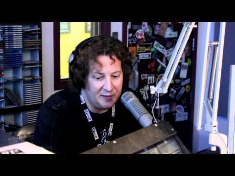 Alan Cross visits The Zone (The Zone @ 91-3 radio Victoria BC Canada 91.3)