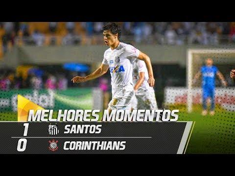 Santos 1 x 0 Corinthians | MELHORES MOMENTOS | Brasileirão (13/10/18)