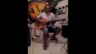 Aula de violão nível zero (Asa Branca) apenas em uma corda