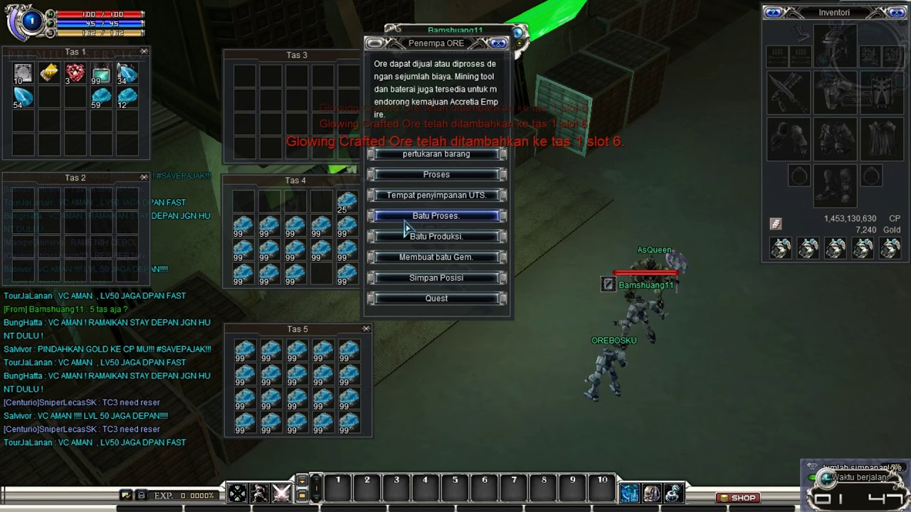 Membuka 95 Slot Rare Ore ! | RF Classic Online - YouTube