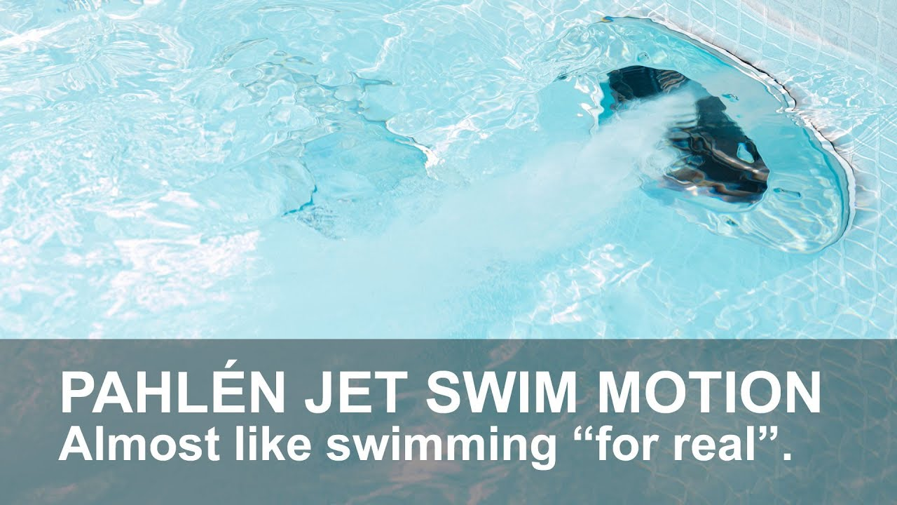 Jet Swim Motion swimming pool counter current – Pahlén