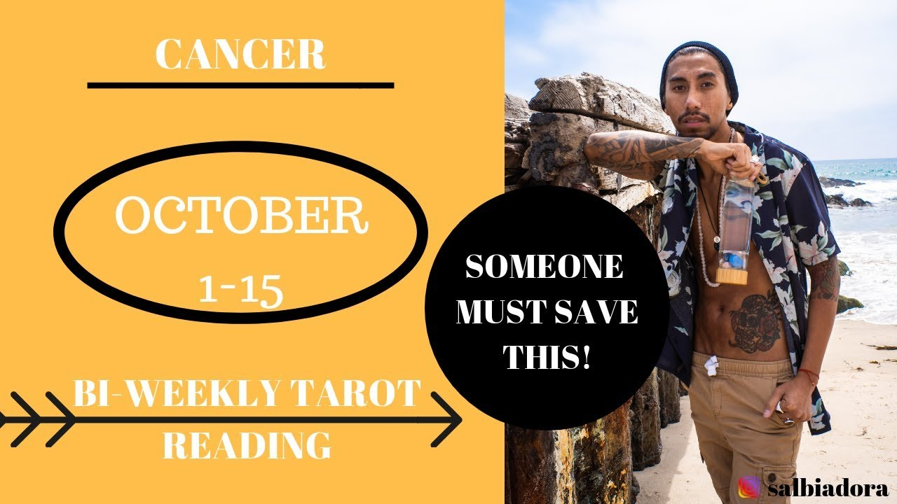cancer weekly tarot november 1 2019