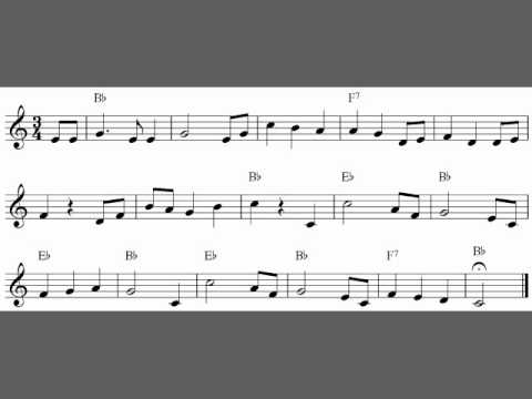 photo regarding Free Printable Clarinet Sheet Music titled Free of charge simple clarinet sheet songs, Lullaby by means of Brahms