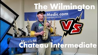 The Wilmington Alto vs a Chateau Intermediate Saxophone
