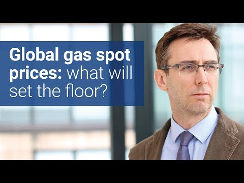 Global gas spot prices – what will set the floor?