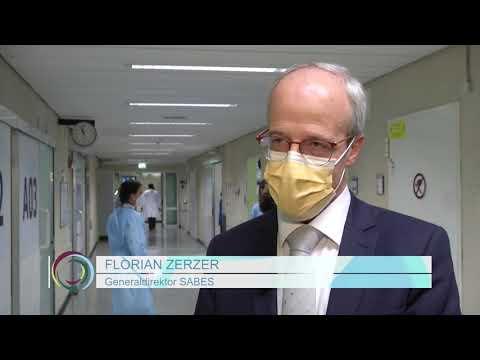 Erste Impfungen gegen das Coronavirusin Südtirol