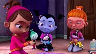 Vampirina - Fiesta de Pijamas Con Humanos - Disney Vampirina en Español | Dibujos animados