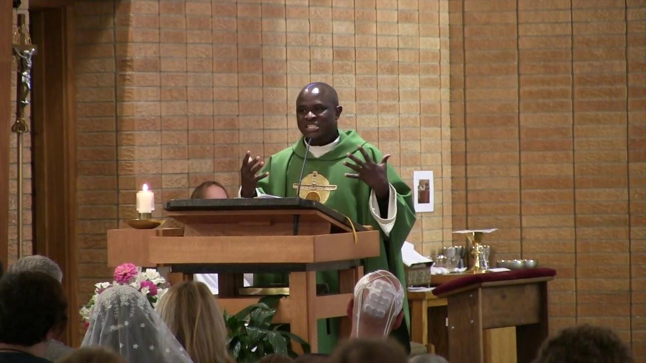 2019 – Homily – St  James, OLA & St  John the Baptist